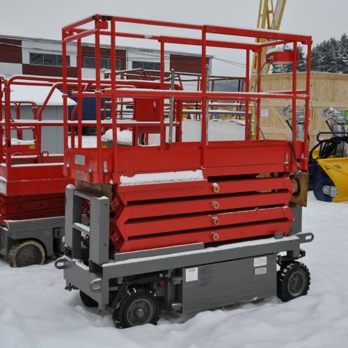 used scissor lift Haulotte H800E, 2000 m.