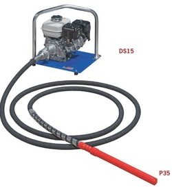 Lanksčios ašies P35 / DS15 giluminiai vibratoriai